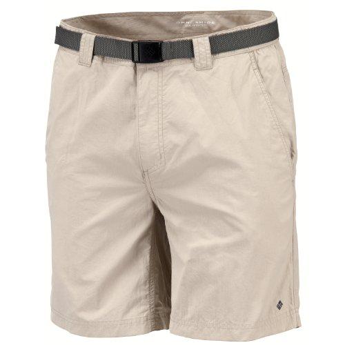 columbia-wanderhose-kurz-silver-ridge-shorts-pantalones-para-hombre-color-fosil-talla-de-40