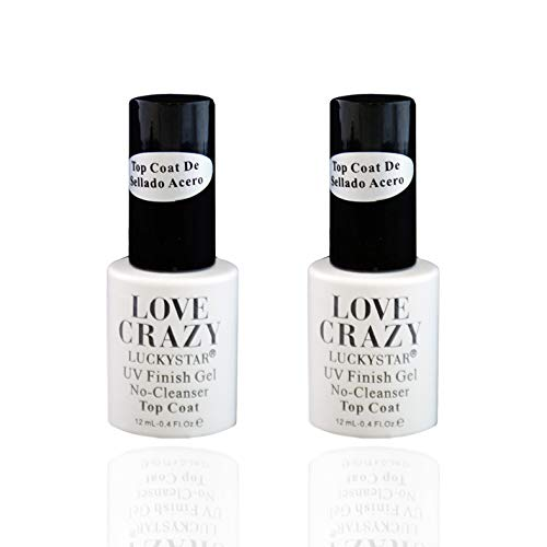 LOVECRAZY-Kit Esmaltes Uñas Gel Semipermanente 2Uds