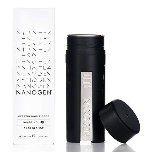 Nanogen Fibras Capilares Queratina: Rubio Oscuro 30