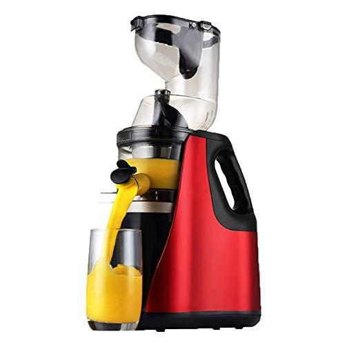Exprimidor de la máquina, mezclador de frutas del hogar, de gran diámetro, completamente automático, mezclador de frutas personal portátil Smoothie licuadora exprimidor máquina
