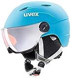 Uvex Kinder junior Visor pro Skihelm -