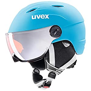 uvex Kinder Skihelm mit Visier junior visor pro