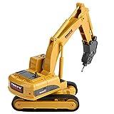 Fernbedienung Bagger, Fernbedienung Bagger Truck Mini Digger RC Engineering Auto Baufahrzeug Spielzeug Geschenk für Kinder( 2 #)