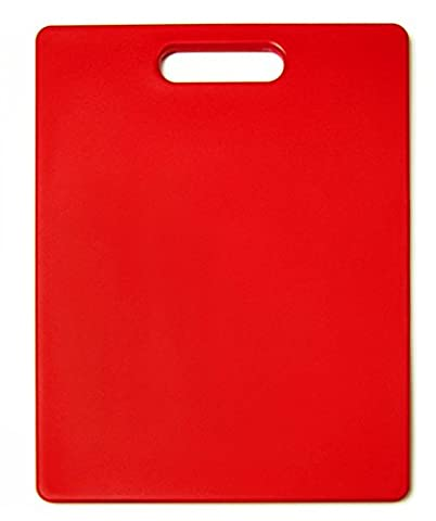 Architec The Gripper 11-Inch by 14-Inch Non-Slip Cutting Board, Red by Architec