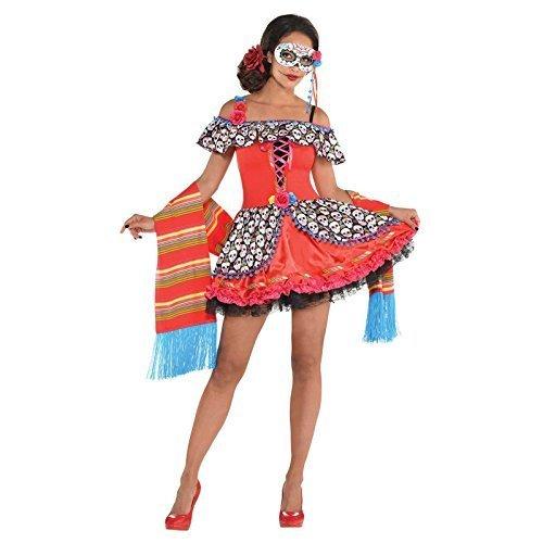 Fancy Dress VIP Damen Tag der Toten Senora -