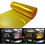 EASYTAR - Adhesivo para cubrir los faros traseros del vehículo (vinilo tintado, 100 cm x 30 cm, para faros antiniebla, impermeable)
