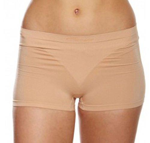 Capezio, Damen-Basis-Shorts, - skin, Large - Frauen Capezio Shorts