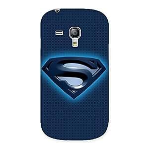 Impressive Premier Blue Day Multicolor Back Case Cover for Galaxy S3 Mini