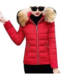 Luckycat Chaquetas de Pluma con Capucha Mujer Ligero Larga Chaqueta Abajo de Invierno Invierno Otoño Calentar Moda