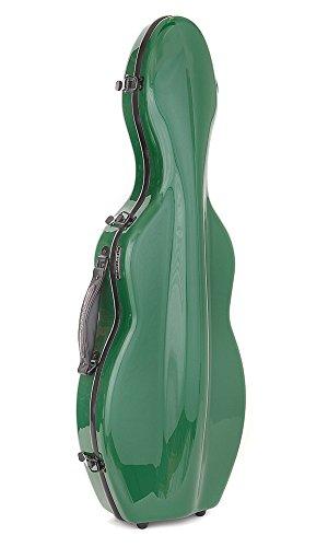 Custodia per violino Fiberglass Tonareli 4/4 VNF1002 VERDE + cartella portaspartiti - VENDITORE AUTORIZZATO