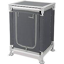 Stabielo – Aluminio camping – Armario – Provisiones Armario – Brocas – 110 x 90 x