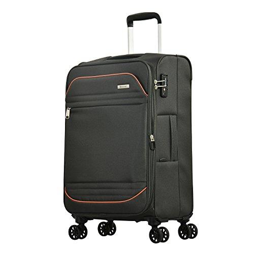Eminent Barcelona, Unisex-Erwachsene Koffer Grau dunkelgrau m