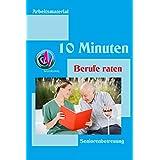 10 Minuten Berufe raten: Arbeitsmaterial zur Seniorenbetreuung