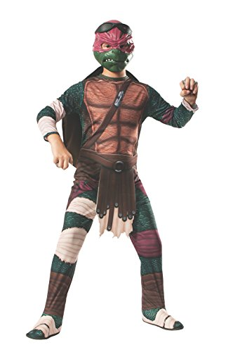 Raphael Classic (Teenage Mutant Ninja Turtles Movie) - Kids Costume 8 - 10 ()