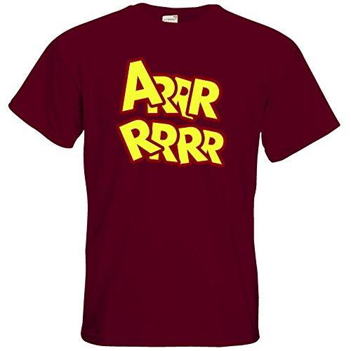 getshirts - Necr1teTV - T-Shirt - ARRRRRRR Burgundy