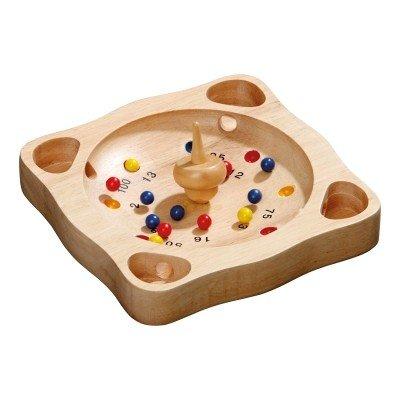 Klassik Games Tiroler Roulette - klein - Hevea-Holz