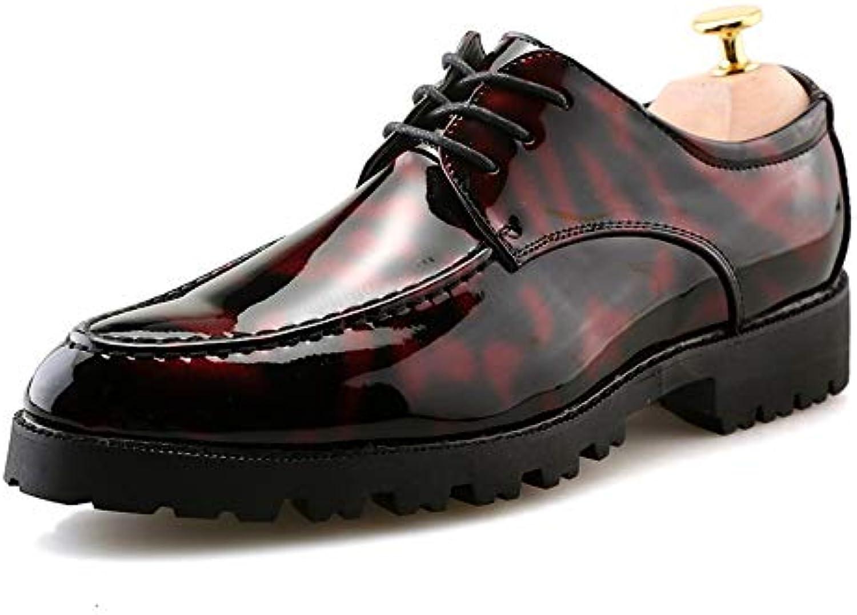 Jiuyue-scarpe, 2018 Moda Casual da Uomo Anti-Skid in Pelle Verniciata Spessa Business Oxford Scarpe Formali Scarpe... | Diversified Nella Confezione  | Gentiluomo/Signora Scarpa