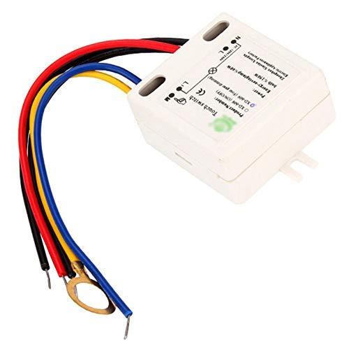 huangThroStore XD-609 Tastsensor für 220 V Lampe, 4 Modi, EIN-/Aus-Schalter -