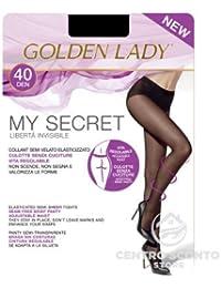 d5507c8e037 GOLDEN LADY COLLANT MY SECRET 40 DENARI 5 COLORE NERO