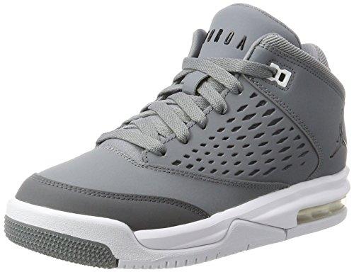 Nike Mädchen Jordan Flight Origin 4 BG Basketballschuhe, Grau (Cool Grey/Black/Dk Grey/White), 36 EU Air Jordan Flight Gs