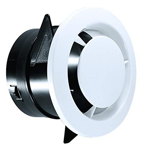 bouche ventilation - fixe - diamètre 80 mm - manchon placo - atlantic 422147