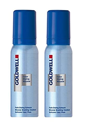 Goldwell Colorance Color Styling Mousse 9P perlsilber 2 x 75 ml Farb-Schaum