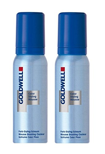 Goldwell Colorance Color Styling Mousse 7G haselnuss 2 x 75 ml Farb-Schaum (Mousse Goldwell Colorance Color)