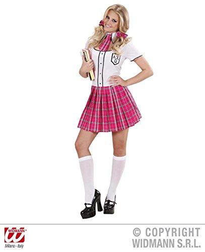 KOSTÜM - COLLEGE GIRL - Größe 38/40 (M), Schule Universität Schulmädchen Schülerin Studenten (College Girl Halloween)