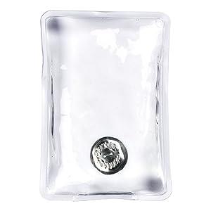 eBuyGB 1277722-4 Sofort erhitzender Gel-Handwärmer (4 Stück), Transparent, rechteckig, Einheitsgröße