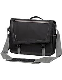 Lightweight Water Resistant 15.6 Laptop Messenger Bag For Men Black School Shoulder Bag By Vonxury By Vx Vonxury