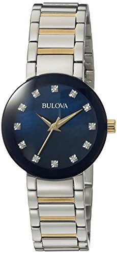 Ladies Bulova Diamond Gallery Watch 98P157