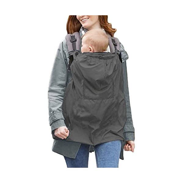 Yeahibaby Waterproof and Windproof Baby Carrier Cover Yeahibaby Easy to use and comfortable to wear. A cute design. Easy and convenient to use. Made from soft, breathable and skin-kind material. 1