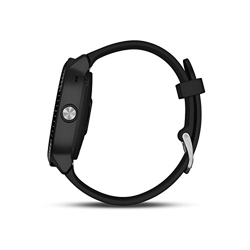 41OKMxP4jZL. SS500  - Garmin Vivoactive 3 GPS Smartwatch with Built-In Sports Apps and Wrist Heart Rate - Black