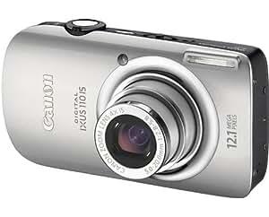 "Canon Digital IXUS 110 IS Digital Camera - Silver (12.1 MP, 4.0x Optical Zoom) 2.8"" LCD"