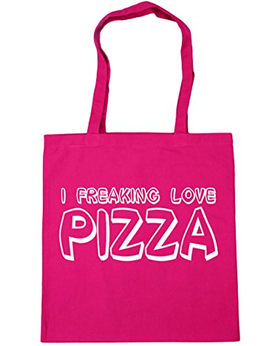 hippowarehouse-i-freaking-love-pizza-tote-shopping-gym-beach-bag-42cm-x38cm-10-litres