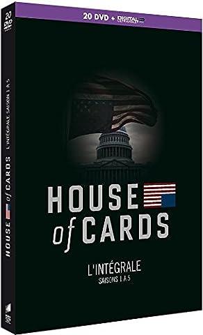 House of Cards - L'Intégrale saisons 1 à 5 [DVD + Copie digitale]