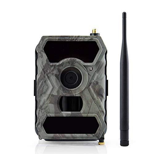 QUARKJK Wildlife Trail Kamera 12MP HD 1080P Digitale Jagd Kamera 940NM Trail Game Kamera 3G Netzwerk SMS/MMS Nachtsicht 56pcs IR LED