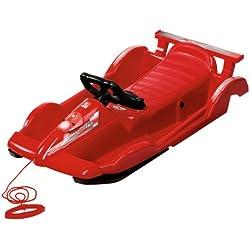 AlpenGaudi Alpenrace Luge / bob 100 cm Rouge