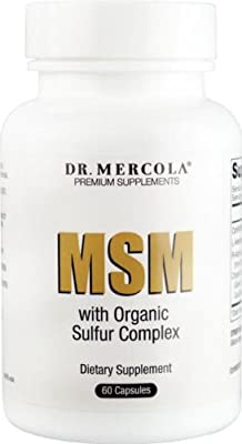 Dr Mercola MSM with Organic Sulfur Complex (60 Capsules) from Dr Mercola