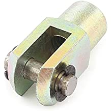 sourcingmap Laiton Y Joint Cylindre Rod Chape End 1/8BSP mâle / M8 Femelle Filetage