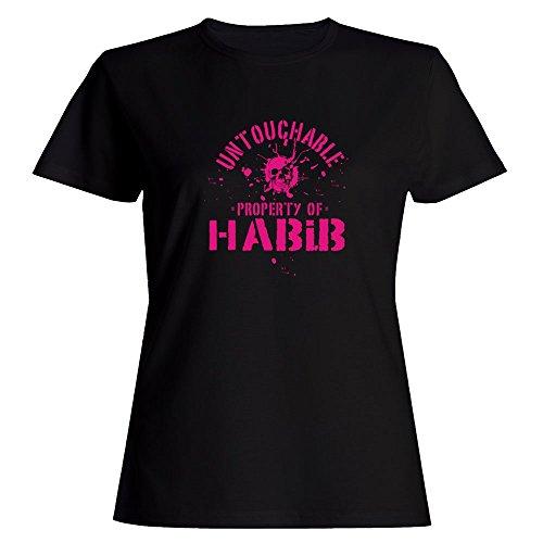 idakoos-untouchable-property-of-habib-male-names-women-t-shirt