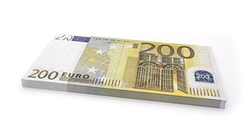 Cashbricks 75 x €200 Euro Spielgeld Scheine - vergrößert - 125{c84dd364a5b3693bce27e725e4eab56ad13712f7c6442ceb481403ee8150e612} Größe