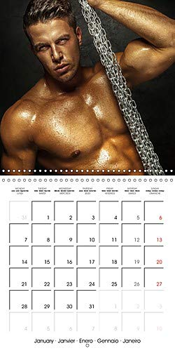 Men . sensual and erotic guys (Wall Calendar 2019 300 × 300 mm Square): Sexy male calendar for sensual moments (Monthly calendar, 14 pages ) (Calvendo People)
