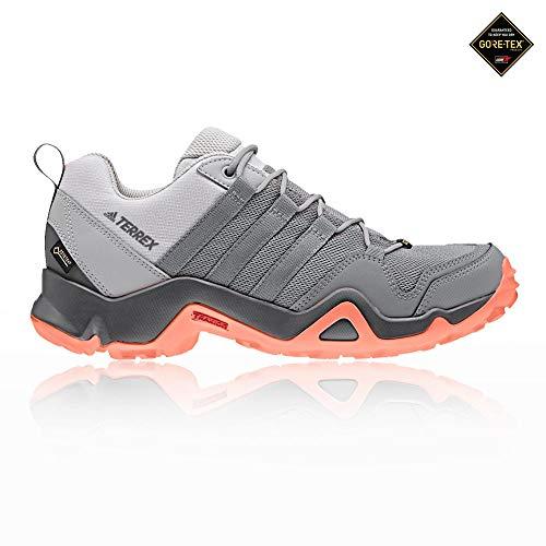 adidas Damen Terrex AX2R GTX Trekking-& Wanderhalbschuhe, Grau Gritre/Cortiz 000, 38 2/3 EU