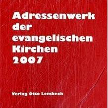 Adressenwerk der evangelischen Kirchen 2006/2007. CD-ROM