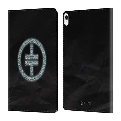 Head Case Designs Offizielle Take That Diamante Wonderland Leder Brieftaschen Huelle kompatibel mit iPad Pro 11 (2018) Diamante Design