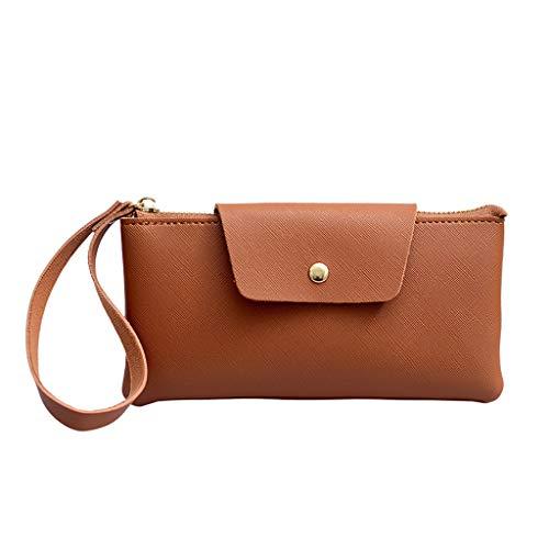 Daygeve Damen Mädchen Casual Umhängetasche Handtasche Schultertasche Tote Griff Aufbewahrungstasche,Damenmode Kupplung große Kapazität Brieftasche Tote Reißverschluss Armband Tasche -