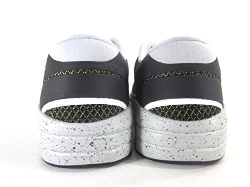 Mens Freie Og '14 Woven Sport Trainer Schuhe BLACK/WHITE BASE GREY/VENOM GREEN