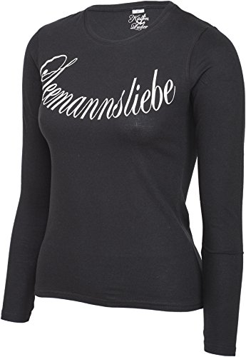 Küstenluder SEEMANNSLIEBE Logo Sailor LANGARM Shirt Rockabilly -