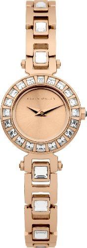 Karen Millen Damen Quarz Uhr mit Edelstahl Armband KM116RGM